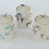 Butterfly Lidded Containers