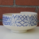 Small Footed Lace Bowl