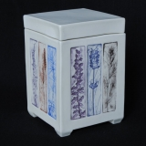 """Lidded Box - Collagraph """"Handpicked Spikes"""""""