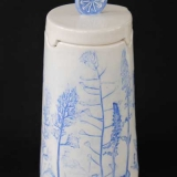Lidded Vessel - Collagraph