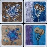 Mini Collagraph Prints