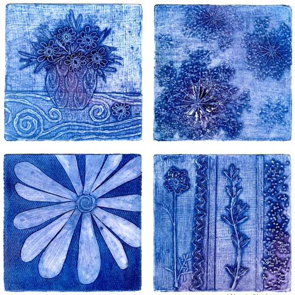 Rhapsody of Blossoms in Blue (1/1)